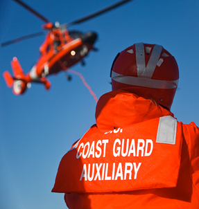 U.S. Coast Guard Auxiliary in action photo --Not A Link --