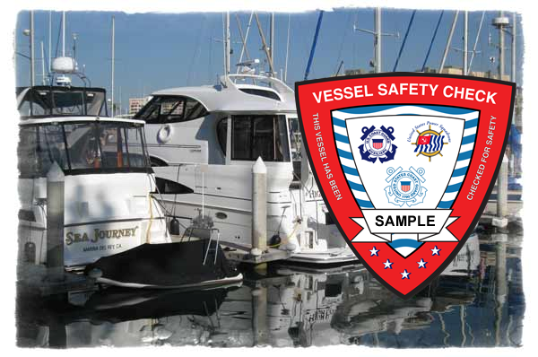 Boating Safety Decal from the U.S. CG
