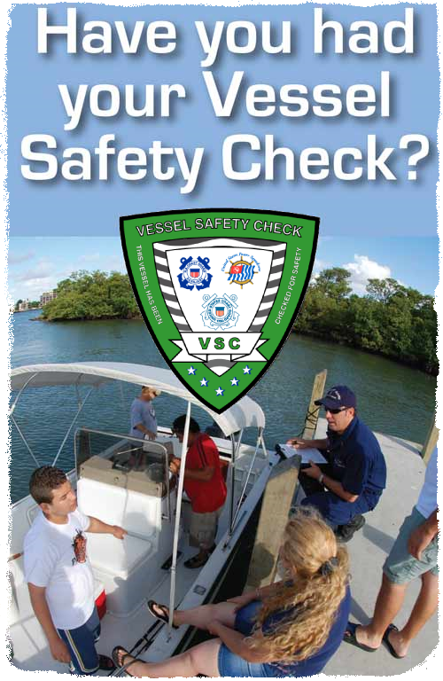 GET A VESSEL SAFETY CHECK TODAY!